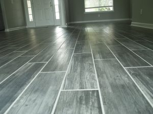 Conway Builders Tile Floor