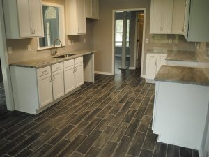 Conway Builders Kitchen Floor